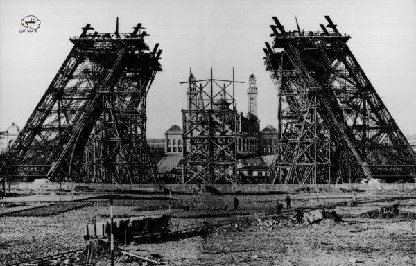 ساخت برج ایفل