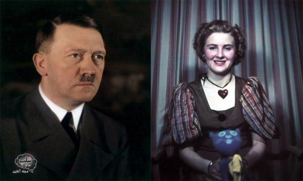 عکس هیتلر و همسرش