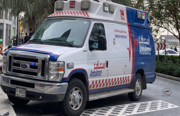 آمبولانس های دبی