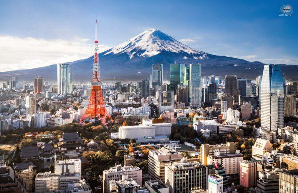 نمای شهر توکیو