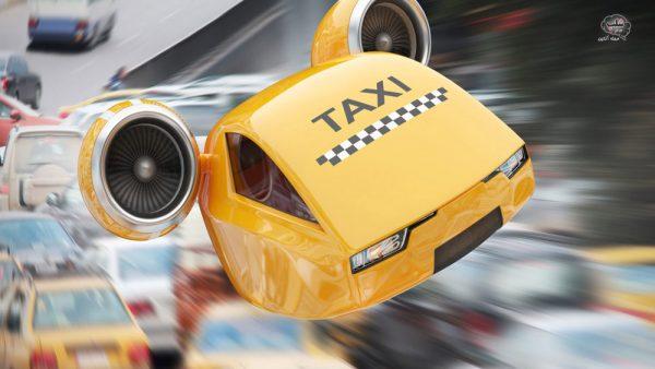 تاکسی پرنده در تهران